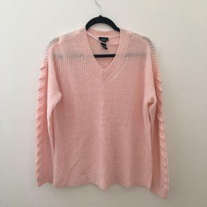Rue 21 Pale Pink Sweater Size M